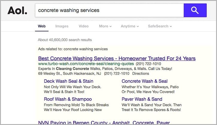 Google Adwords for Turbo-Wash