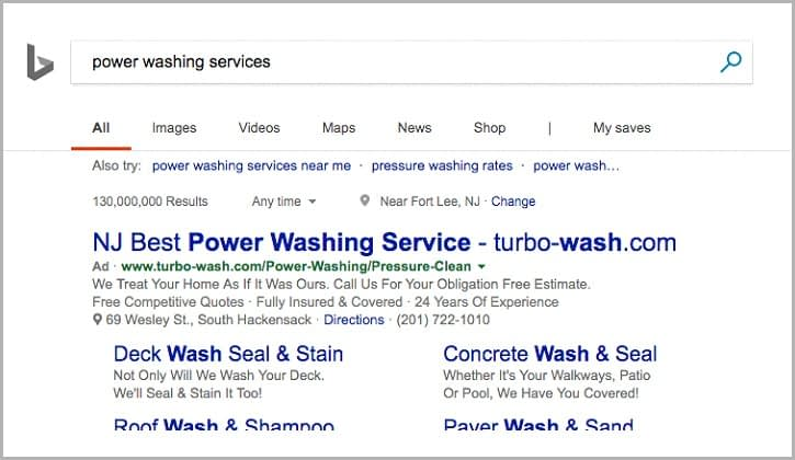 PPC Services for Turbo-Wash