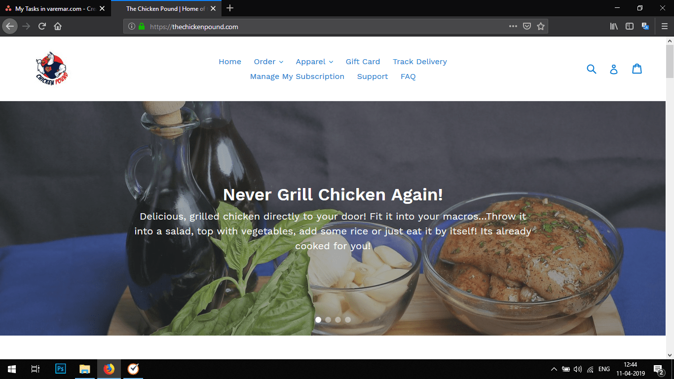 "<a href=""https://thechickenpound.com/"">www.thechickenpound.com</a>"
