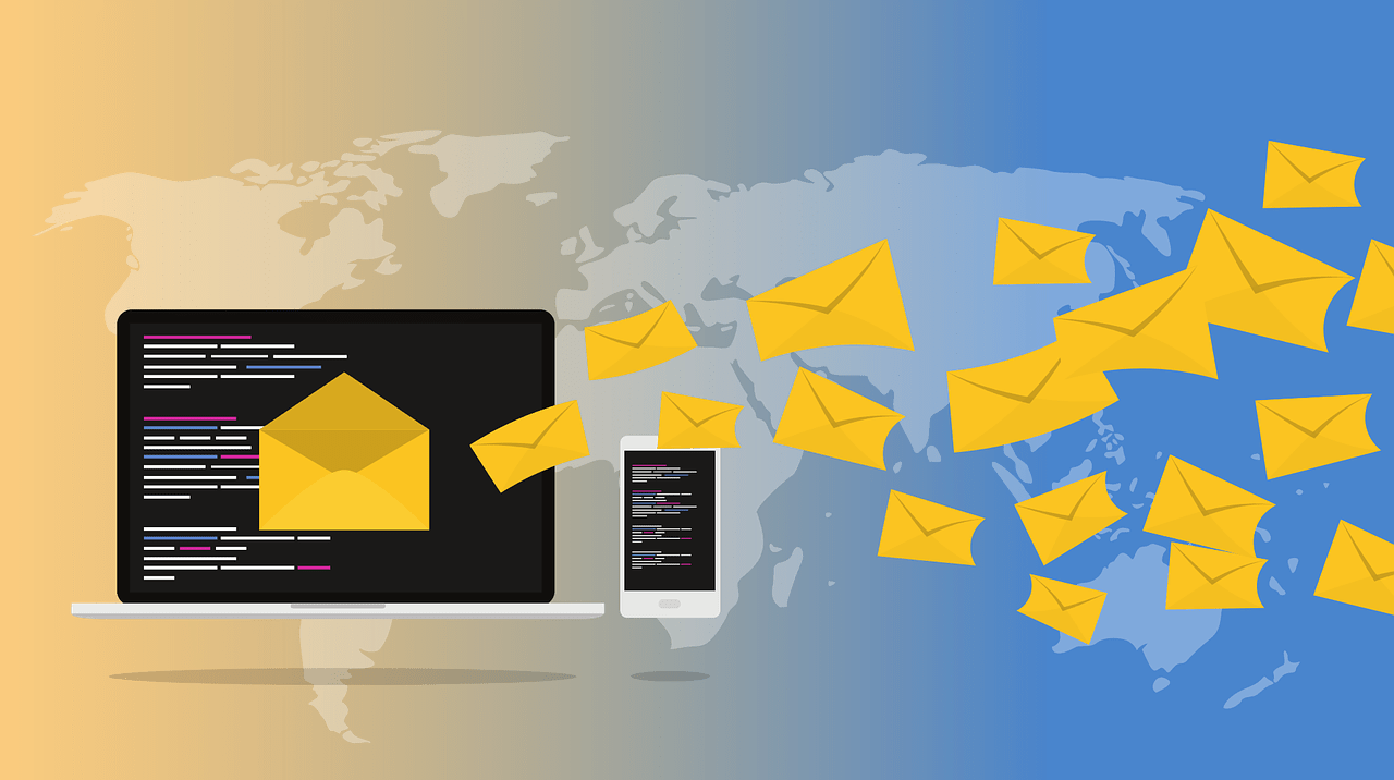 email campaign marketing graphic
