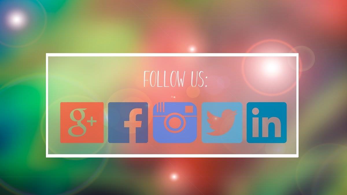 social media links for site